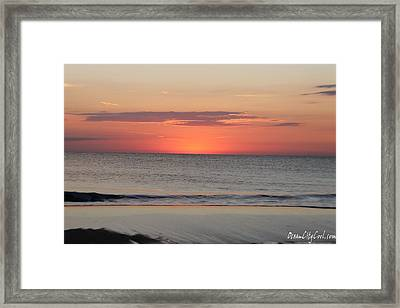 Framed Print featuring the photograph New Day Coming by Robert Banach