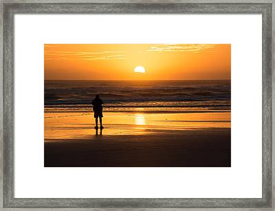 New Day Dawning Framed Print by Kathleen Scanlan