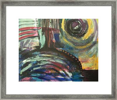 New Day Dawning Framed Print by MtnWoman Silver