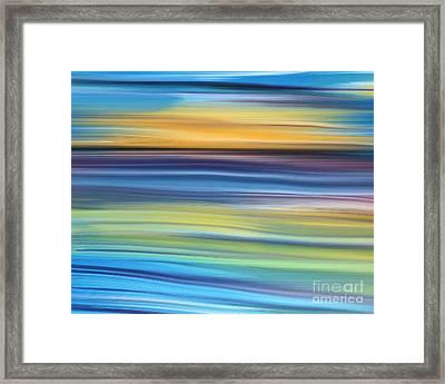 New Day Framed Print by Hilda Lechuga