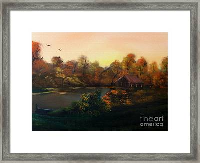 New Day In Autumn Sold Framed Print