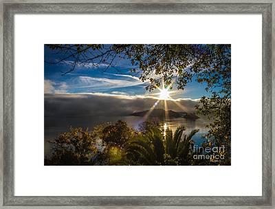 New Day Framed Print by Mitch Shindelbower