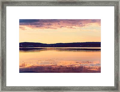 New Day New Hope Framed Print by Jenny Rainbow