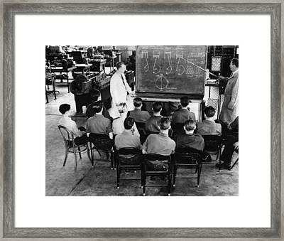 New Deal: C.c.c. Class Framed Print