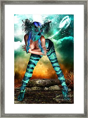 New Earth 3015 Framed Print