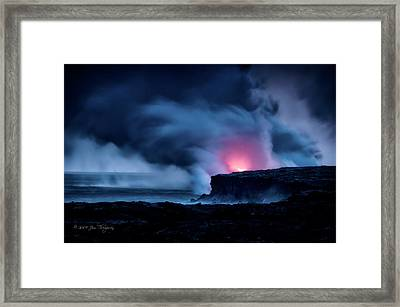 Framed Print featuring the photograph New Earth by Jim Thompson