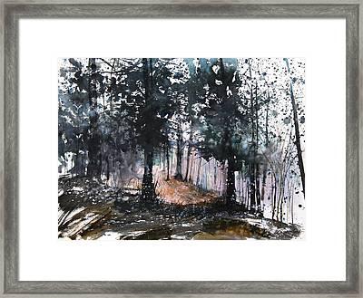 New England Landscape No.214 Framed Print by Sumiyo Toribe