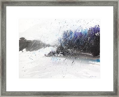 New England Landscape No.215 Framed Print by Sumiyo Toribe