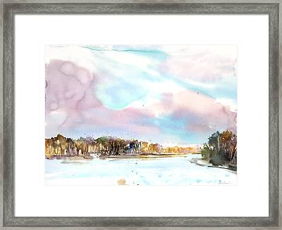 New England Landscape No.216 Framed Print