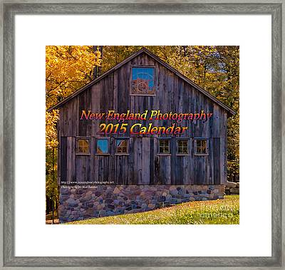 New England Photography 2015 Calendar. Framed Print