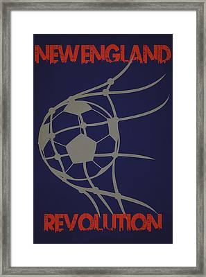 New England Revolution Goal Framed Print by Joe Hamilton