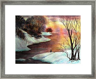 New Every Morning  Framed Print