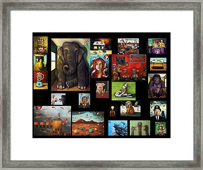 New Flyer Framed Print by Leah Saulnier The Painting Maniac