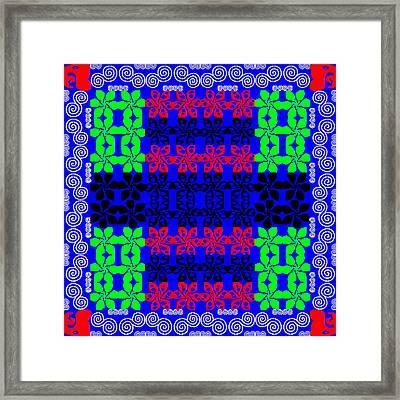New Font Art 4 Framed Print