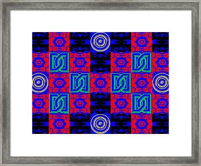 New Font Art 5 Framed Print