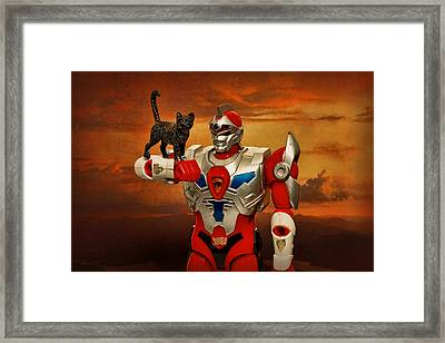 New Friend 2 Framed Print by Jeff  Gettis