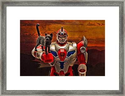 New Friend Framed Print by Jeff  Gettis