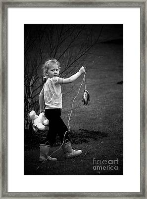 New Friends? Framed Print