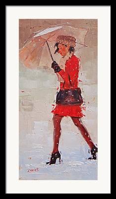 Red Coats Framed Prints