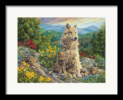 New Generations Paintings Framed Prints