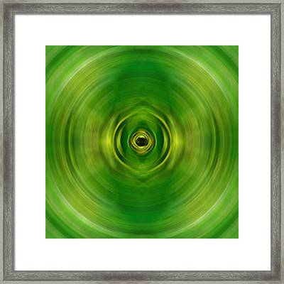 New Growth - Green Art By Sharon Cummings Framed Print by Sharon Cummings