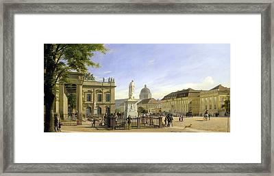 New Guardshouse In Berlin Framed Print