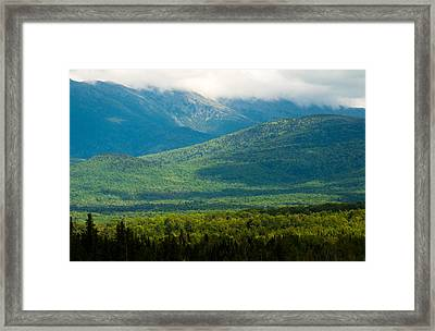 New Hampshire Mountainscape Framed Print