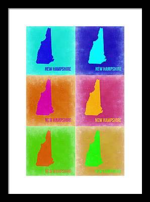 New Hampshire Framed Prints