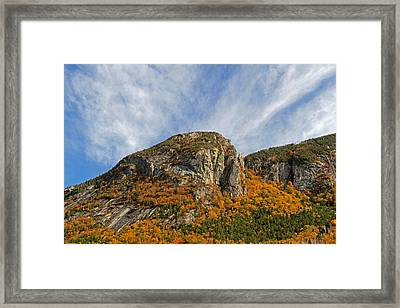 New Hampshire White Mountains Framed Print