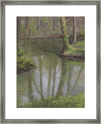 New Harmony Spring Framed Print by Anna Rose Bain