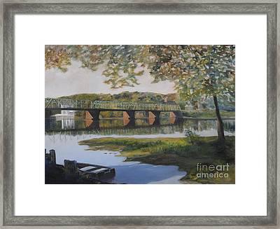 New Hope Bridge Framed Print