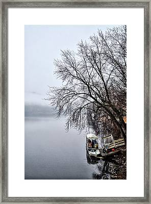 New Hope Ferry Framed Print by Bill Cannon