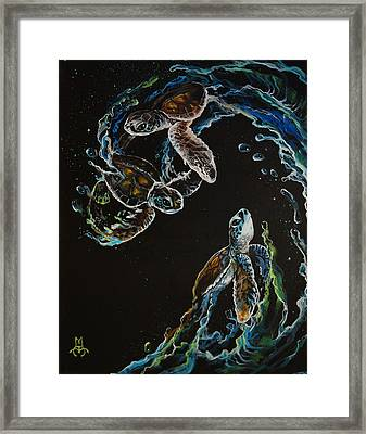 New Hope Framed Print by Marco Antonio Aguilar