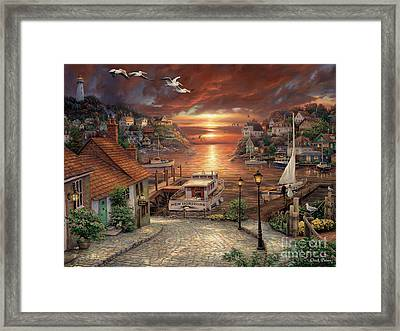 New Horizons Framed Print by Chuck Pinson