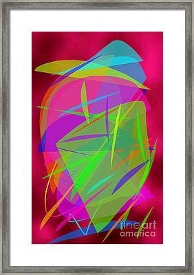 Framed Print featuring the painting New Horizons by Ilona Svetluska