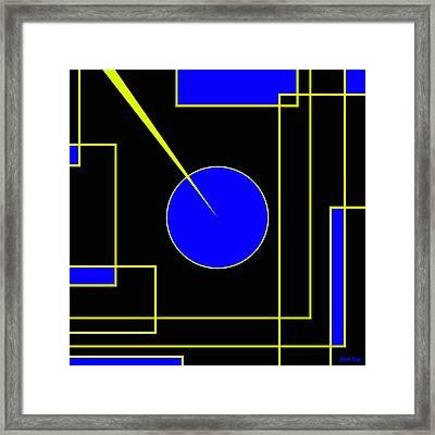 New Ideas Generator Framed Print