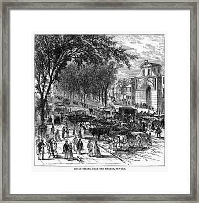New Jersey Newark, 1876 Framed Print by Granger