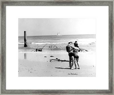 New Jersey Shore  1964 Framed Print by   Joe Beasley