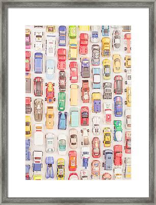 New Jersey Traffic Jam Framed Print by Edward Fielding