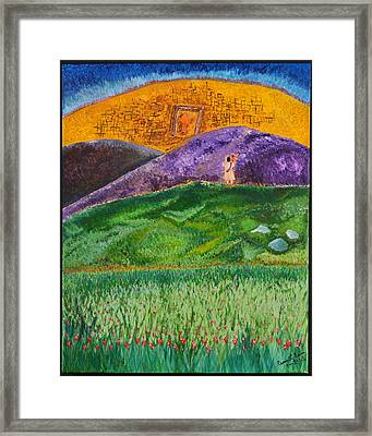 New Jerusalem Framed Print by Cassie Sears