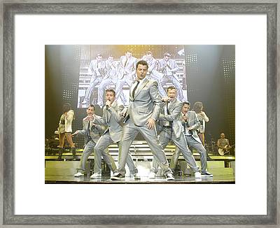 New Kids On The Block Framed Print by Don Olea