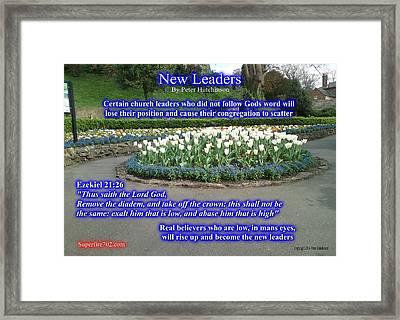 New Leaders Framed Print
