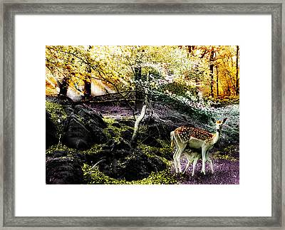 New Life In Fantasia Framed Print