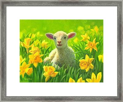 New Life In Spring Framed Print