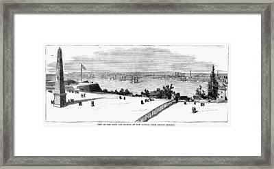 New London, Connecticut Framed Print by Granger