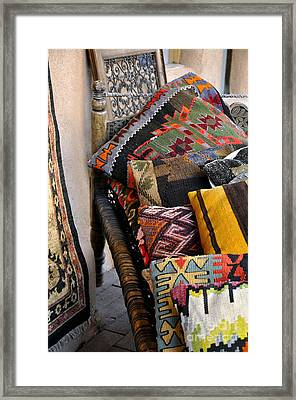 Framed Print featuring the photograph New Mexican Flair by Gina Savage