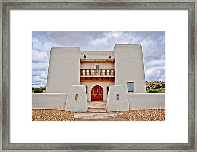 Framed Print featuring the photograph New Mexican Hideaway by Gina Savage