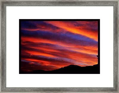 New Mexican Sunrise Framed Print by Susanne Still