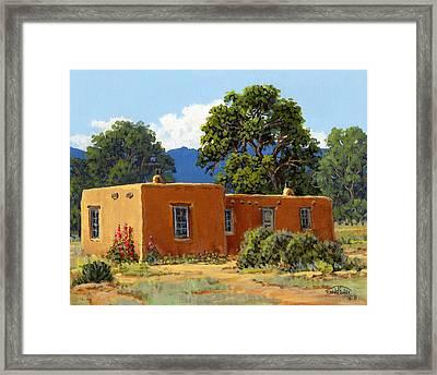 New Mexico Adobe Framed Print