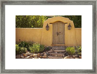 New Mexico Facade # 1 Framed Print